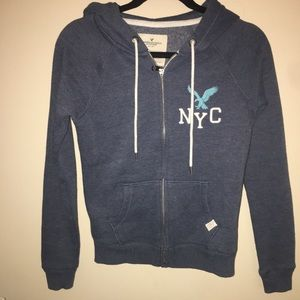 American Eagle Hooded Zip up